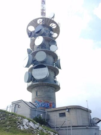 Street art Cima Palon, Monte Bondone, Vason, Trento