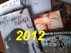 La mia non classifica musica 2012