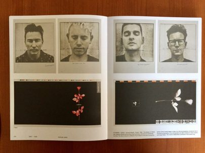 Depeche Mode, Violator, artwork boards, (1990), Anton Corbijn, Mute - A visual document From 1978 -> Tomorrow