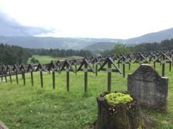Il cimitero militare austroungarico di Slaghenaufi Lavarone Folgaria TN