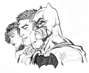 Justice League omaggio Filippo Rossi