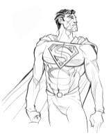 Superman omaggio di Filippo Rossi