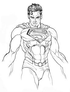 Superman di omaggio Filippo Rossi