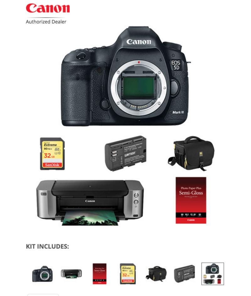 Canon 5D Kit