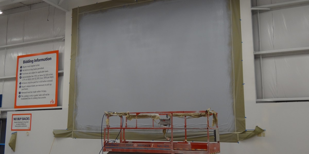 Industrial Interior Painting Project