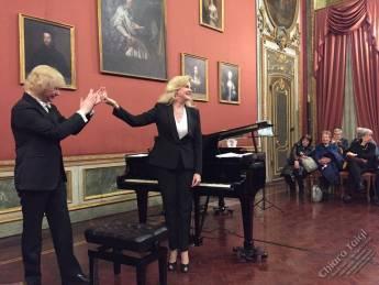 Chiara Taigi - Applausi e ovazioni al concerto
