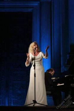 Chiara Taigi ha cantato la 27° Edizione del Concerto di Mezza Estate - Loreto