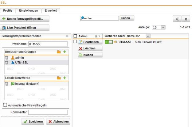 Fernzugriff VPN SSL für Sophos UTM einrichten… - SULT eu IT-Blog