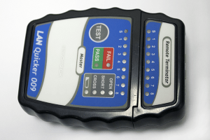 Ethernet cable tester