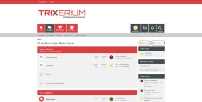 Trixerium cinnabar - Trixerium xf2