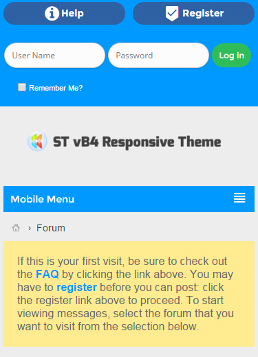 logout - ST vB4 Responsive