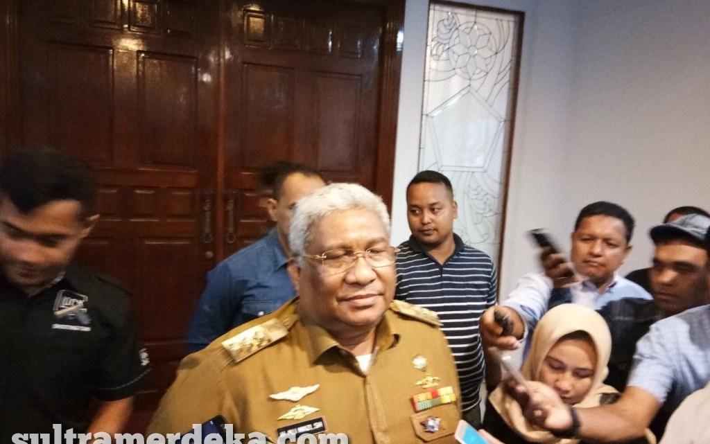 Gubernur Sulawesi Tenggara, Ali Mazi. (Foto: SultraMerdeka.Com)