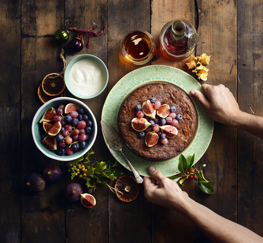 Vegan Tropical Fruit Cake