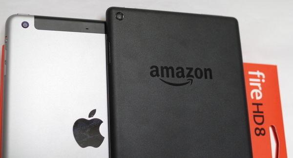 iPad mini3とFire HD 8