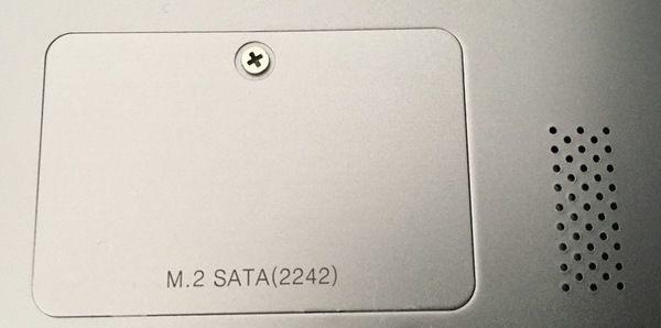 Chuwi Lapbook Air SSDスロット