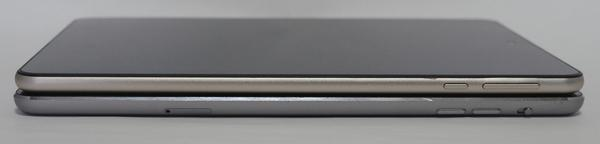 Teclast M89 vs iPad mini 3 サイドより