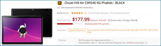 Gearbest Chuwi Hi9 Air