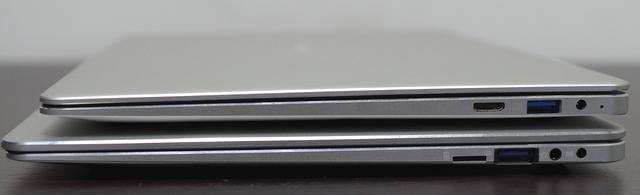 Jumper EZBook X4 IPS パネル版、右サイド