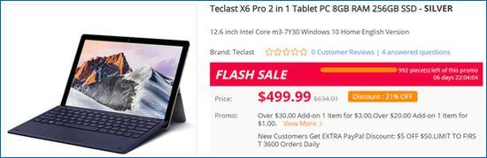 Gearbest Teclast X6 Pro
