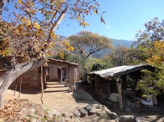 Restaurant within the rural community of El Divisadero in the Calchaqui Valleys, Argentina