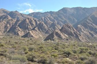 "Mountains surrounding ""El Divisadero"""