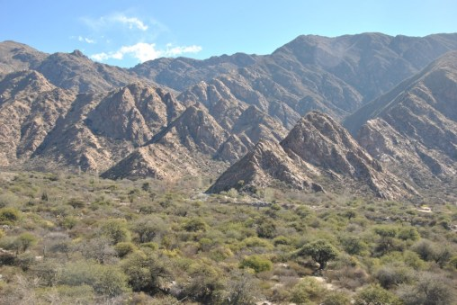 "Mountains surrounding ""El Divisadero"""