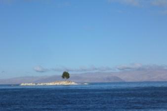 Boat trip in the Lake Titicaca