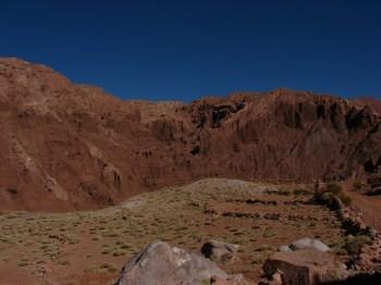 Roads up in the High lands in Machuca Village