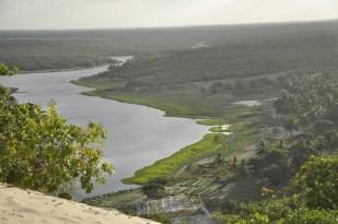 Landscapes in Jenipapo Kanindé, in Ceara, Brazil