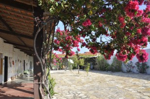 A local inn, or pousada, in Tremembé on the Ceara coast, Brazil