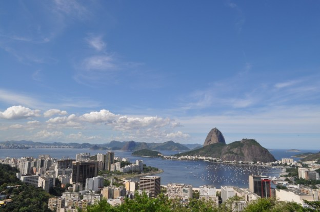 View of the Sugar Loaf Mountain during a Rio de Janeiro tour in Brazil