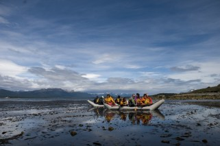 Boat trip in the Beagle Channel
