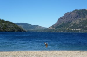 Lakes, mountains and wildlife near Bariloche, Patagonia Argentina