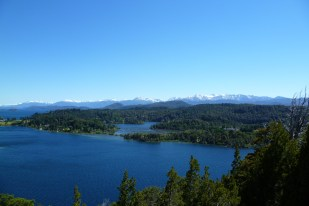 The Andes Mountain Range, in Bariloche, Patagonia Argentina