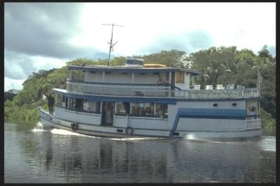 River Boat, Manaus, Brazil
