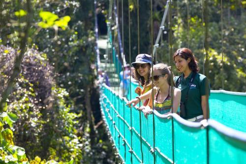 Hanging Bridge, Arenal Volcano National Park, Costa Rica
