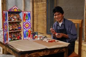 Ichimay Wari craftsman, Peru