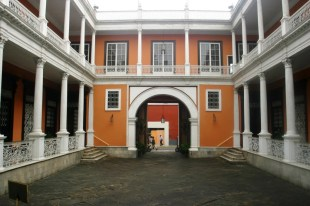 Colonial architecture in Trujillo, Northern Peru