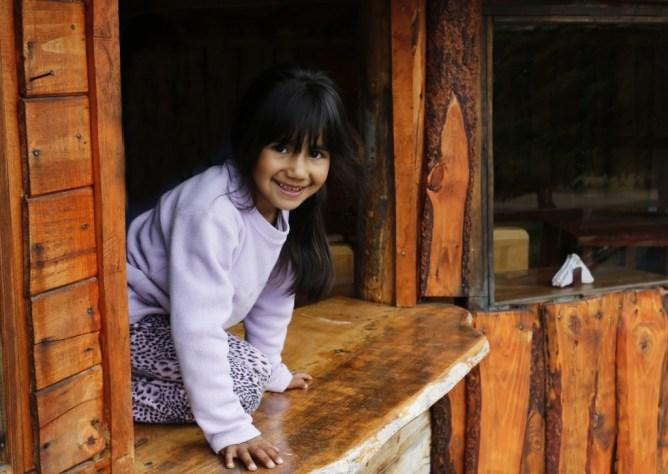 san martin de los andes argentina girl smiling