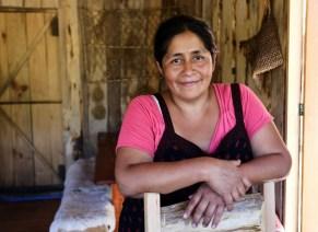 Anita in Curarrehue, a Mapuche territory in Chile