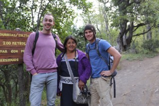Mapuche guide in Patagonia