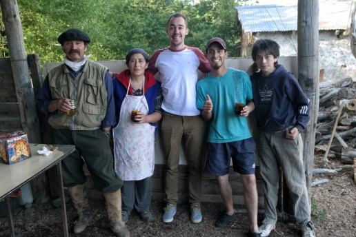 Patagonia Gaucho family, Argentina
