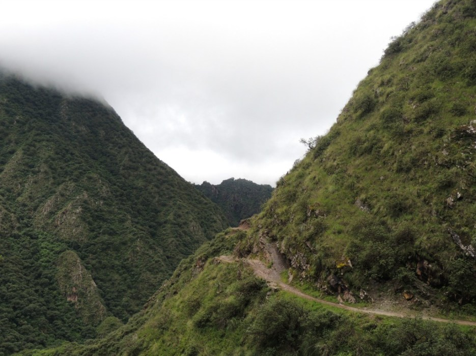 Scenery on the trek between villages in the Yungas region of Argentina
