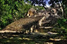 The amazing archaeological site of Calakmul, Mexico
