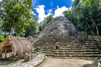 The mesmerising archaeological site of Coba, in Mexico