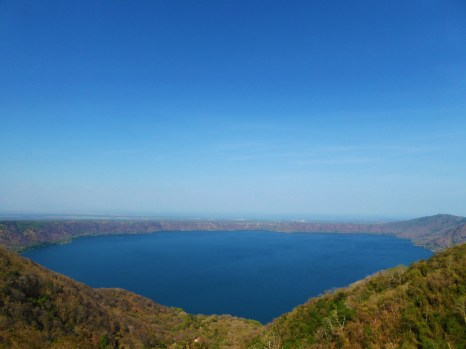 Laguna de Apoyo, seen from the mirador of Catarina, near Masaya, Nicaragua