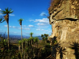 Far-reaching views over El Tisey Natural Reserve from Alberto Gutierrez's sculpture park, Nicaragua