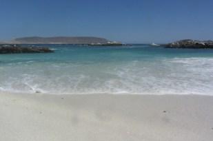 A calm day at Bahia Inglesa beach, Chile