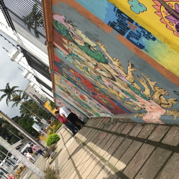 The thriving street art scene San Jose, Costa Rica