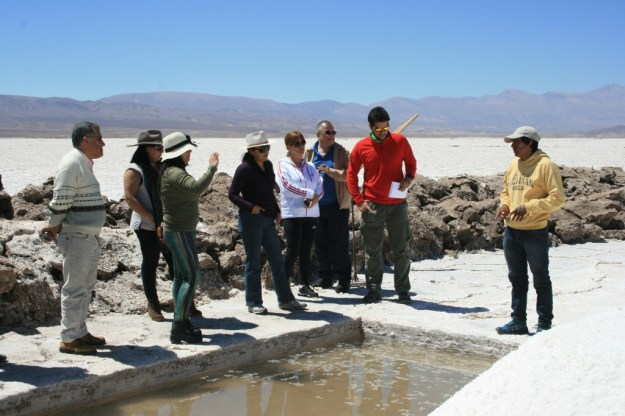 At Red Atacama, visitors learn how salt is made